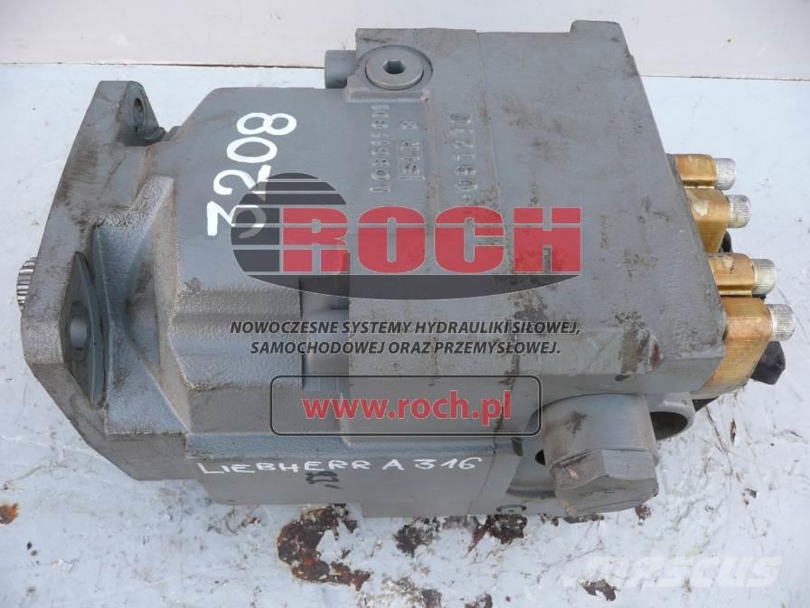 [Other] Silnik LIEBHERR DMVA 0165 ID nr 10125250-100