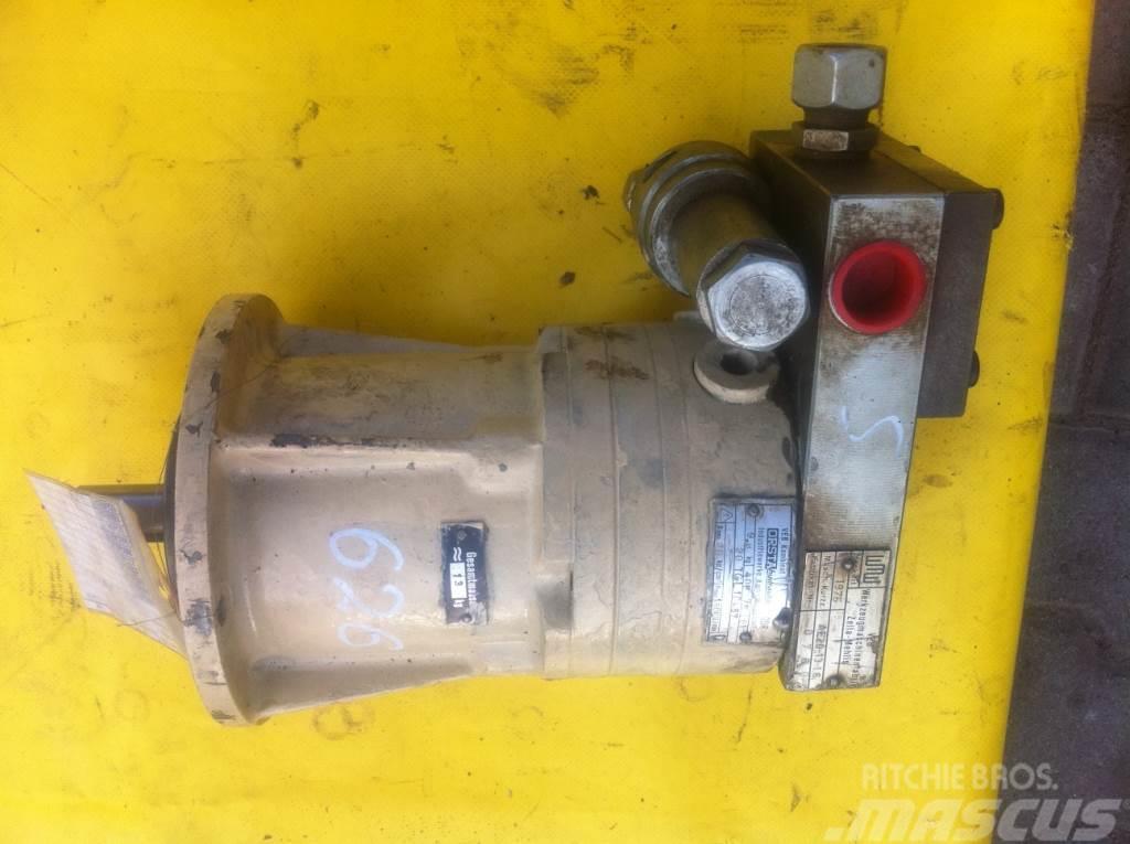 [Other] Silnik ORSTA 408-75 20TG 10857 + VEBZELLA AE201316