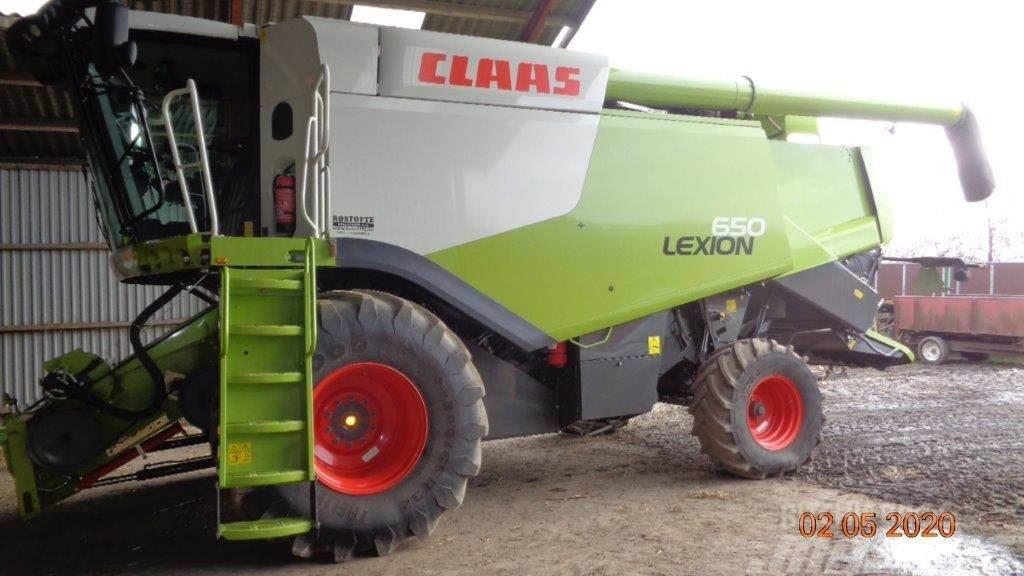 CLAAS LEXION 650 Vario 770