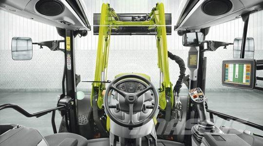 CLAAS ARION 460 MED LÆSSER Panorama Tag
