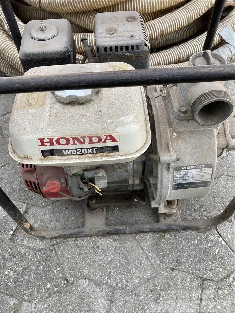 Honda pumpe WB20XT