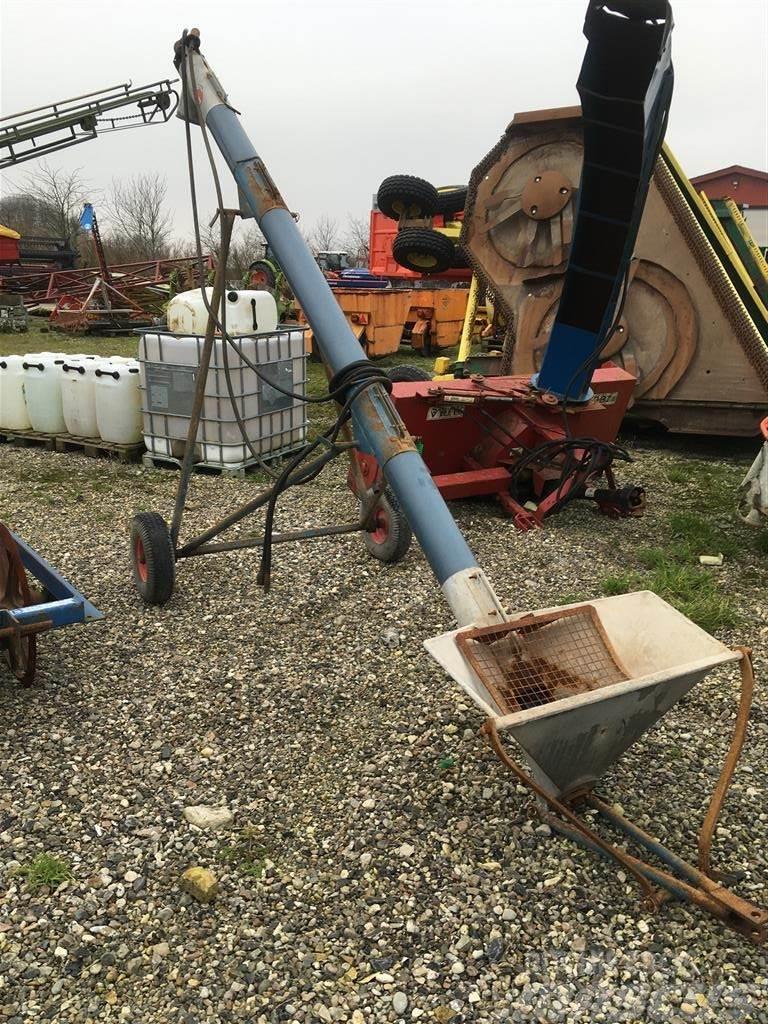Jema Korn- og gødningssnegl, 4m på hjulstel