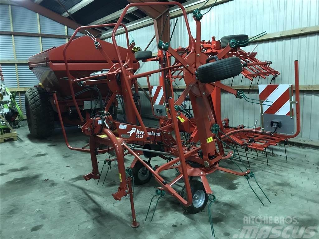 Kverneland TA8452 vender 4 rotors kampagne