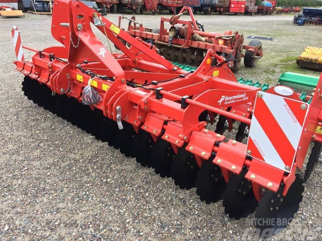 Kverneland 4 Meter Qualidisc Farmer fast ramme Actipack pakke