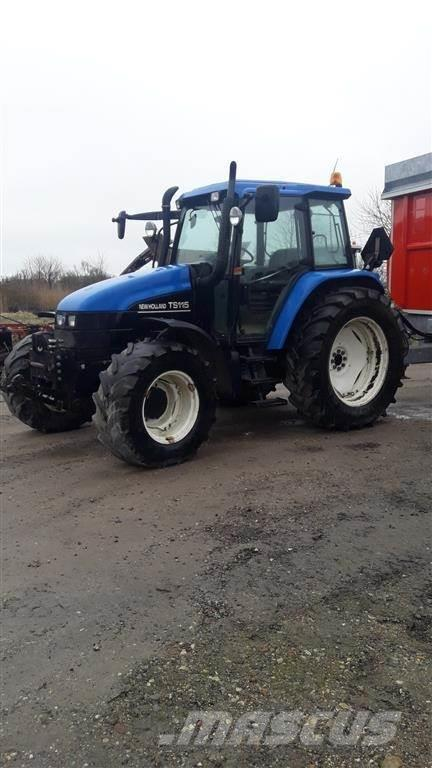New Holland TS 115 A Frontlift
