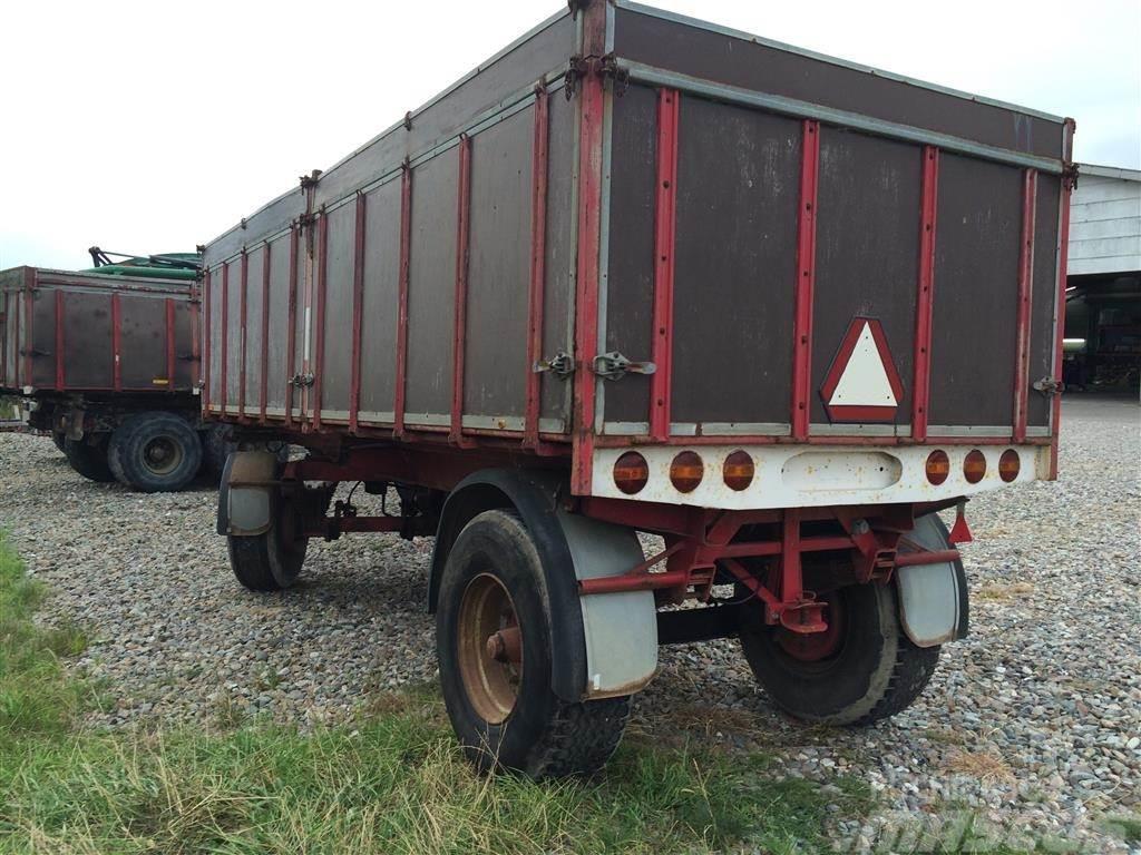 Scania 15,5 tons hænger