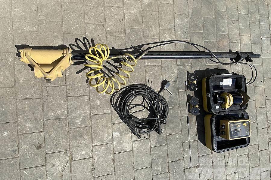Topcon Lasersteuerung Grader + Dozer