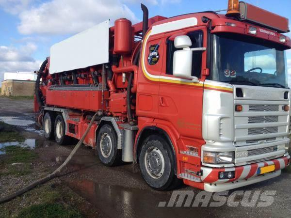 Scania Helmers recycler 164 G