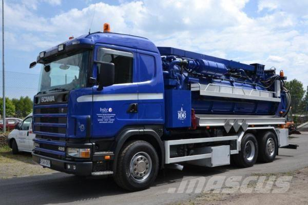 Scania P124 GB 6X2 * 4