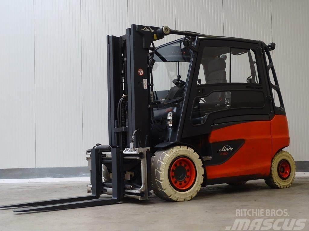 Linde E50L-01/600 Conteiner Indoor - TRIPLEX