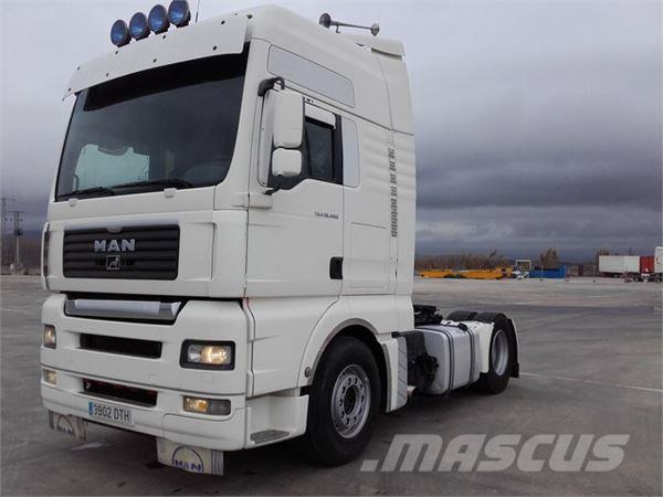 MAN TGA 18.480, 2005, Dragbilar