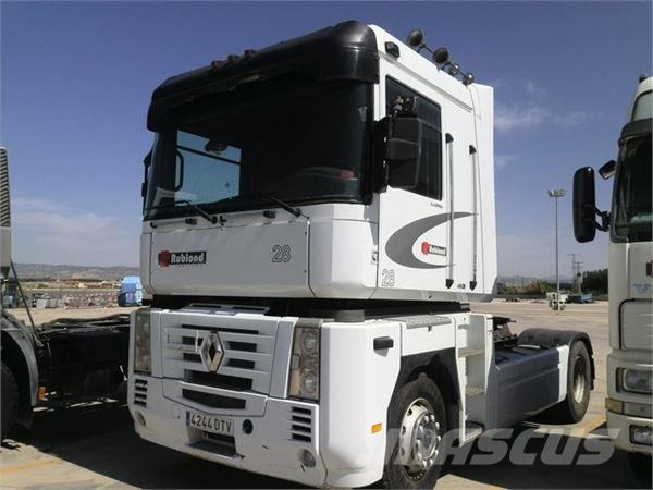 renault magnum 480 occasion prix 8 500 ann e d 39 immatriculation 2005 tracteur routier. Black Bedroom Furniture Sets. Home Design Ideas