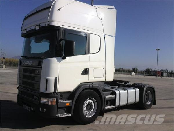 Scania R164.480, 2002, Dragbilar