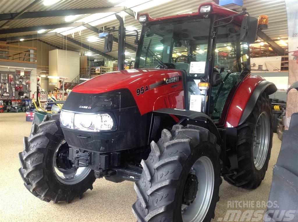 Case IH FARMALL 95A Ny traktor. til salg Hurup Thy Pris: kr. 405.600, Årgang: 2017 - Brugte Case ...