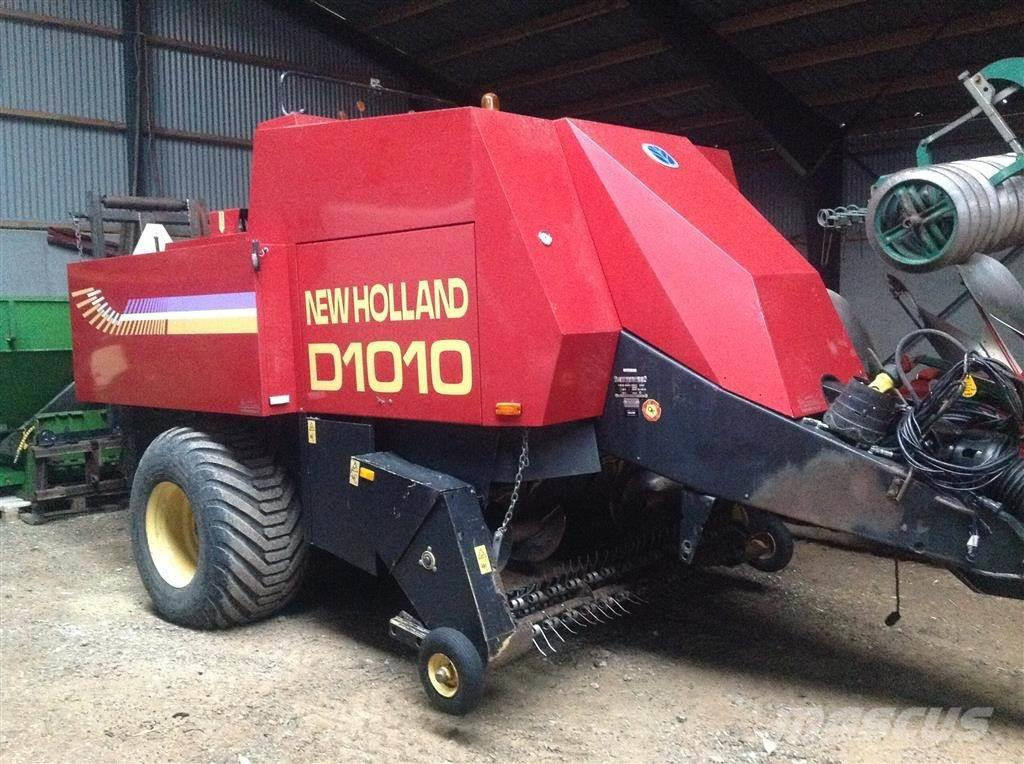 New Holland D1010 Minibigballepresser.