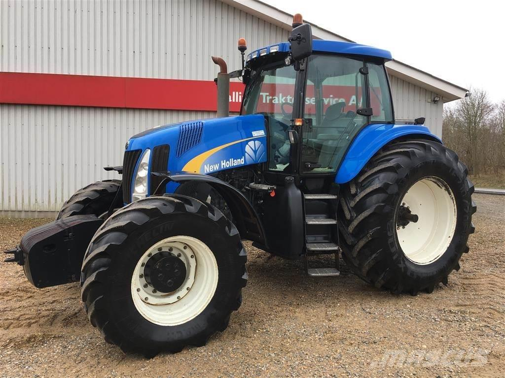 New Holland TG 285 SS frontvægte