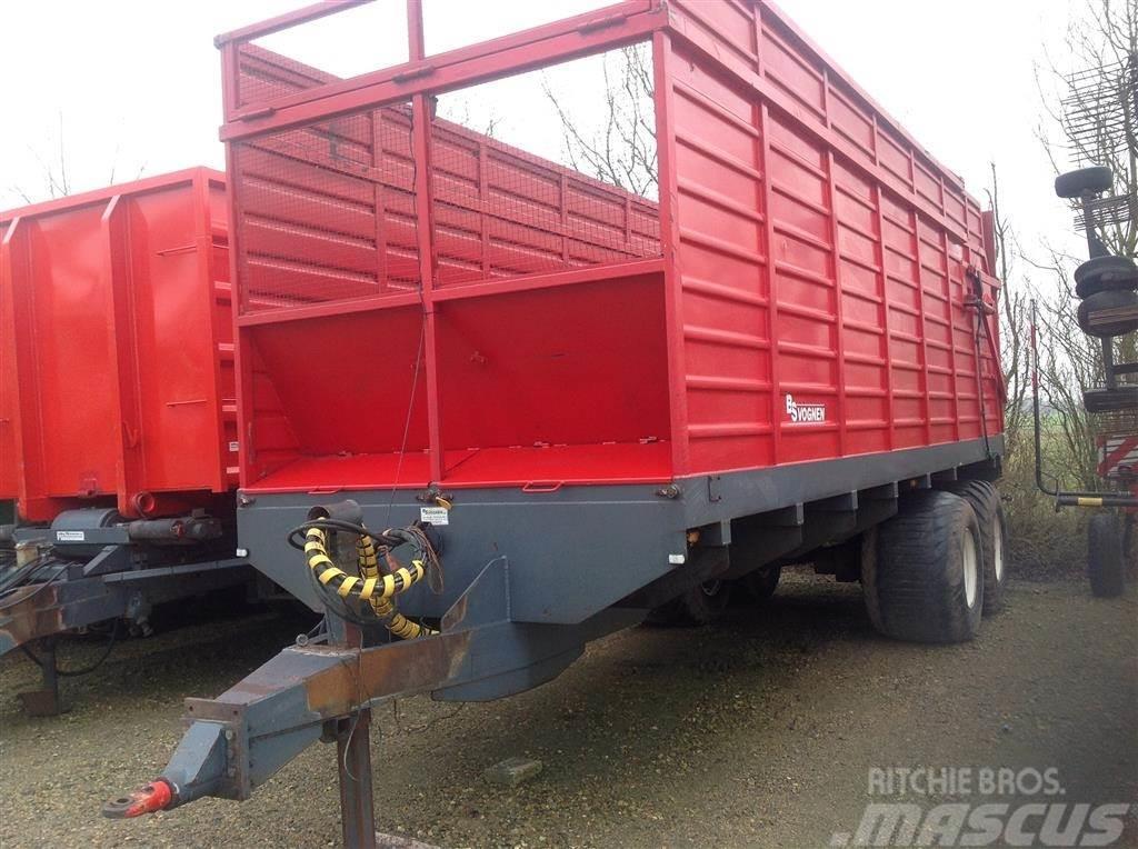 [Other] BS 40m3 Frakørselsvogn m/bundkæde.