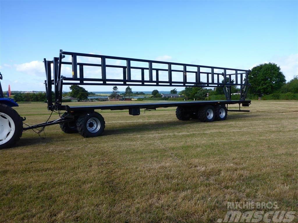 Palmse PT 31250 12.5 m vogn med hydraulikse balleholder