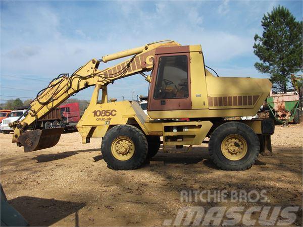 CASE 1085C CRUZ-AIR til salg, Årgang: 1991 - Brugte CASE 1085C CRUZ-AIR Gravemaskiner på hjul ...