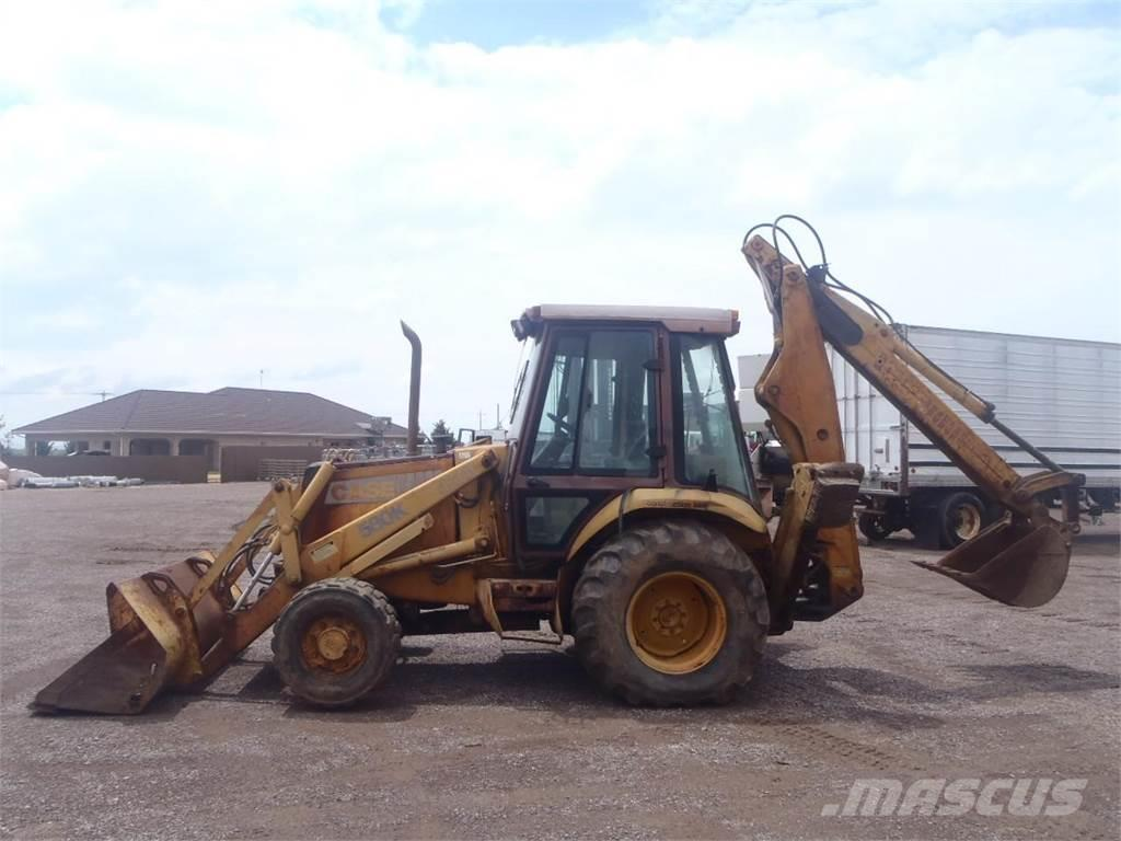 used case 580k backhoe loaders year  1987 for sale