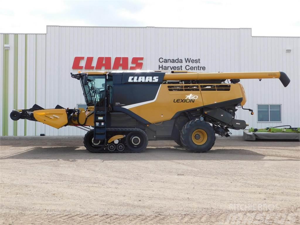CLAAS LEXION 760TT