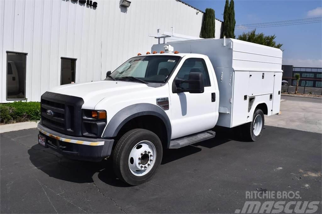 Used Work Trucks >> Ford F450