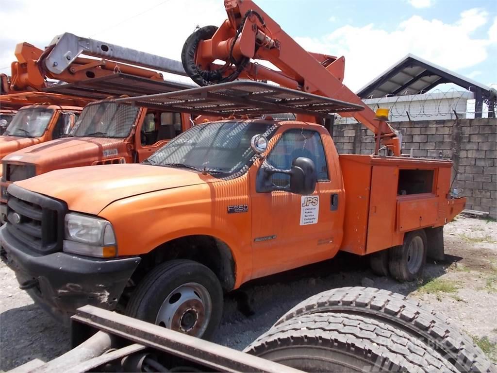 Used Work Trucks >> Ford F550
