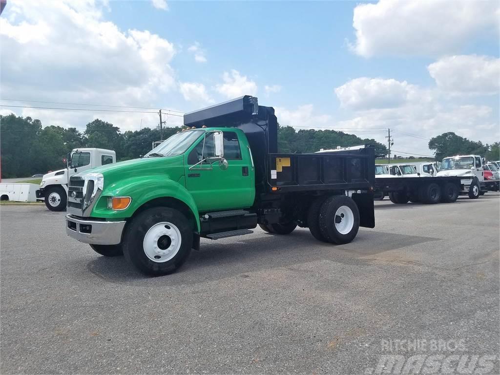 Ford f750 2009 tipper trucks