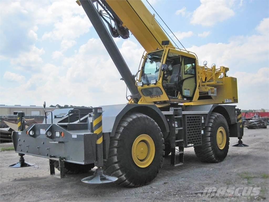Grove Rt880e For Sale Houston Texas Year 2013 Used