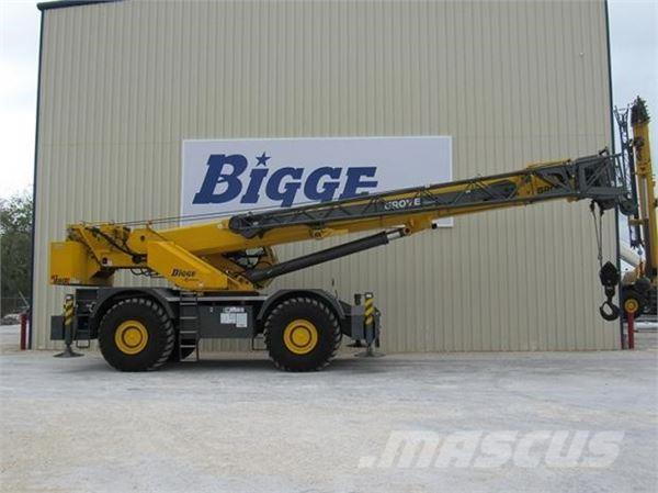 Used Jib Cranes Houston : Grove rt e for sale houston texas price year