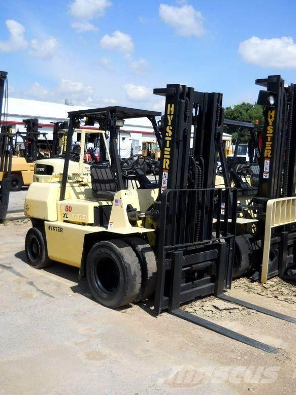 Hyster forklift H80xl Manual