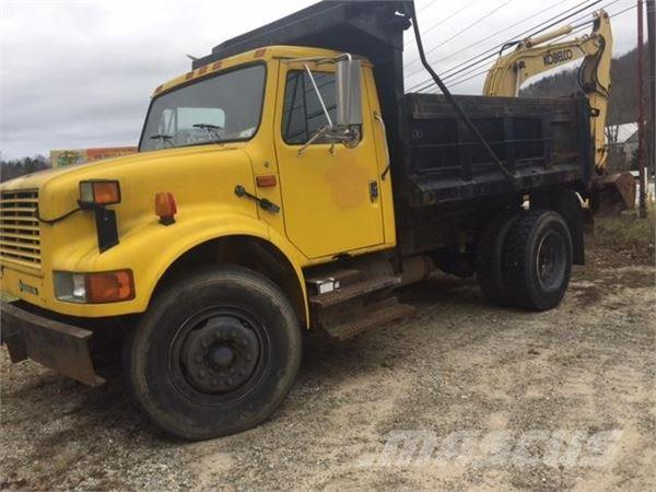 International 4700, 1992, Tipper trucks ...