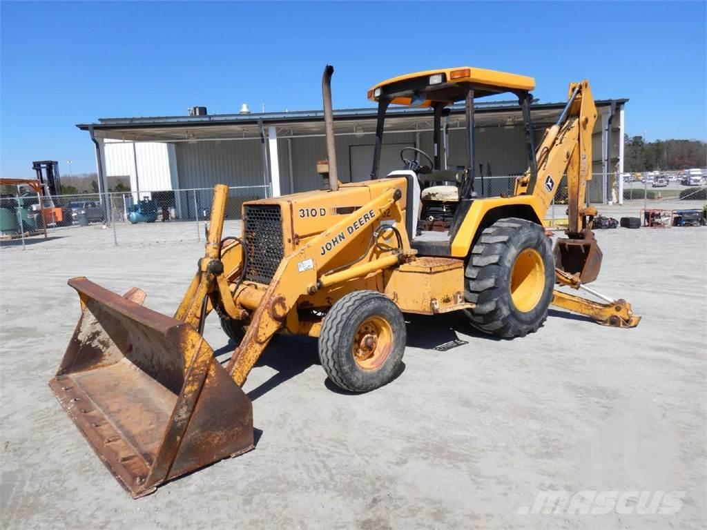 John Deere 310D, 1992, Backhoe Loaders ...
