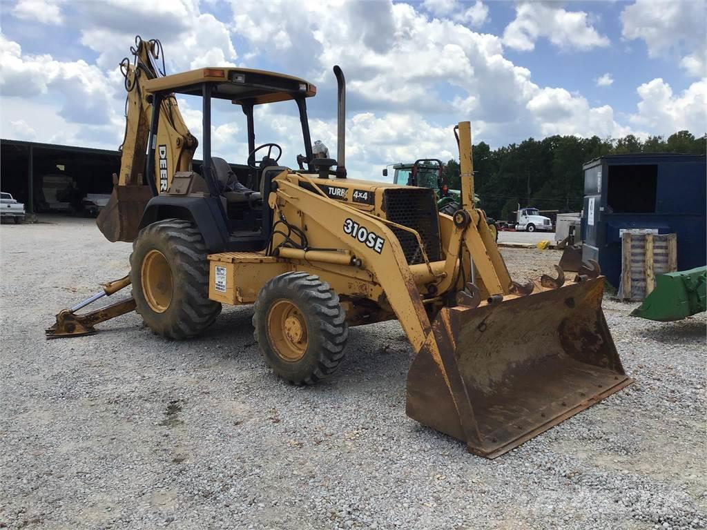 John Deere 310se United States 29 237 Backhoe Loaders