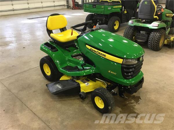 john deere x300 for sale bluffton indiana price 1 999. Black Bedroom Furniture Sets. Home Design Ideas