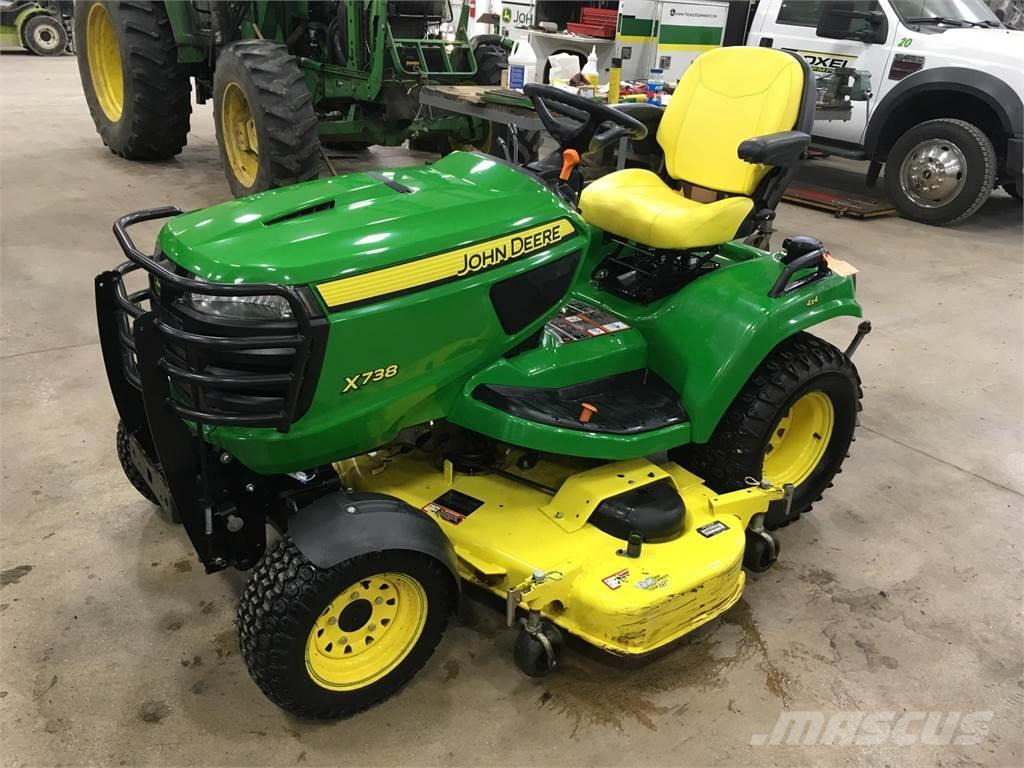 john deere x738 for sale bluffton indiana price 9 995 year 2013 used john deere x738. Black Bedroom Furniture Sets. Home Design Ideas