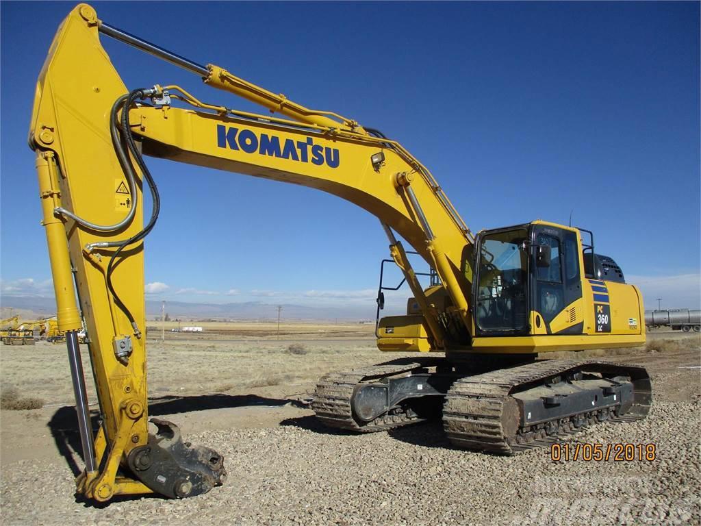 Komatsu PC360 LC-11, 2017, Crawler excavators ...