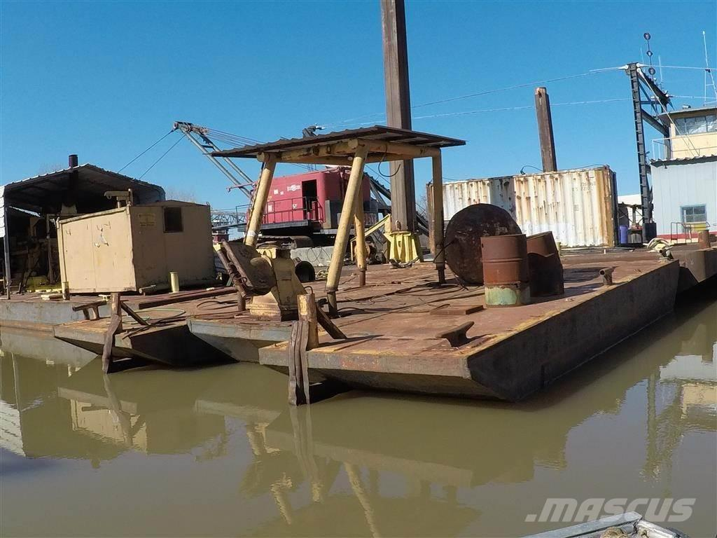 [Other] 33' X 23' WELD BARGE (3) WELDED BARGES