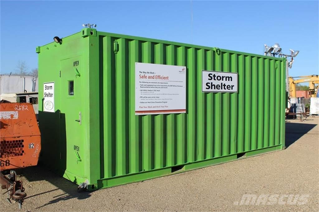 [Other] 8X20 STORM SHELTER CONTAINER .