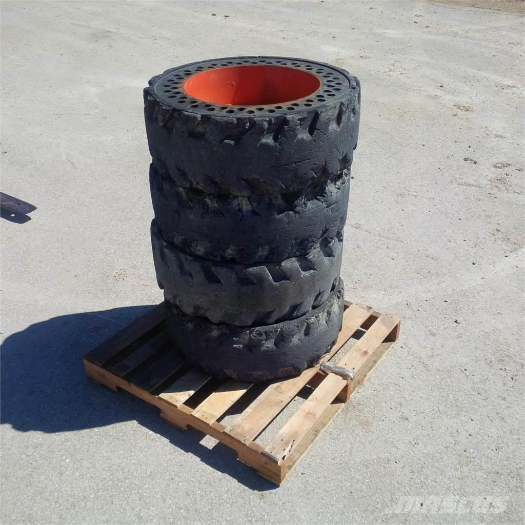 [Other] Flatproof 10 x 16.5 Cushion Tires Used Solid tires