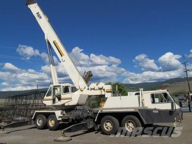Used P & H T650 all terrain cranes Year: 1983 Price ...