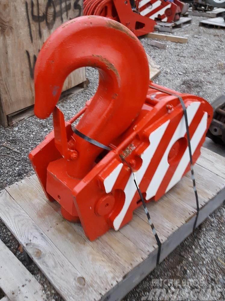 Tadano Hook block, 21MM (7/8 inch) Rope, 5 sheave, 80 Mt