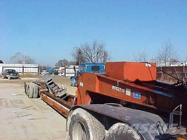 Trail-Eze 40 TON DETACH BEAM trailer