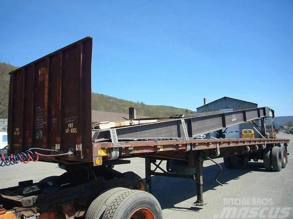 Trailmobile 2002 Trailmobile 45' Tandem Axle Flatbed Trailer