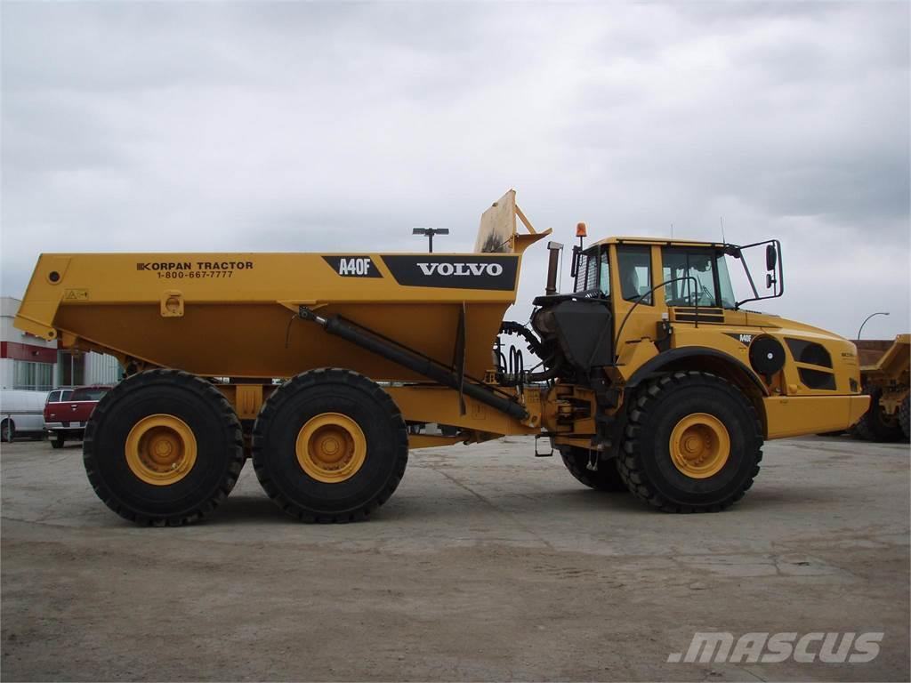 Used Volvo A40F articulated Dump Truck (ADT) Year: 2012 Price: $314,596 for sale - Mascus USA