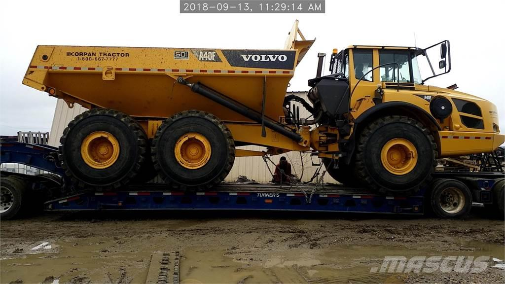 Used Volvo a40f articulated Dump Truck (ADT) Year: 2012 Price: $327,953 for sale - Mascus USA