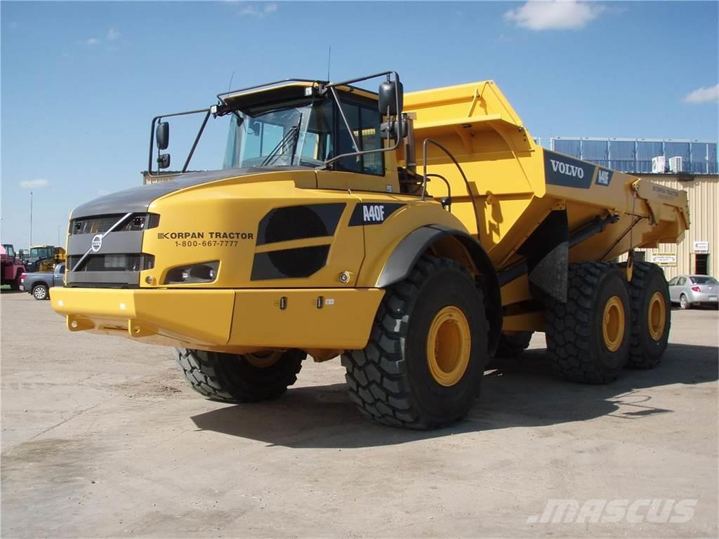 Volvo -a40f - Articulated Dump Truck (ADT), Price: £275,960, Year