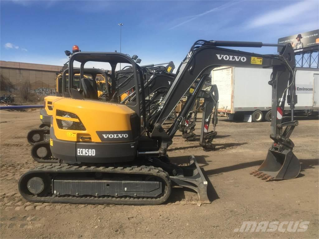 Volvo Dealer Denver >> Volvo ECR58D for sale Denver, Colorado , Year: 2017 | Used Volvo ECR58D mini excavators