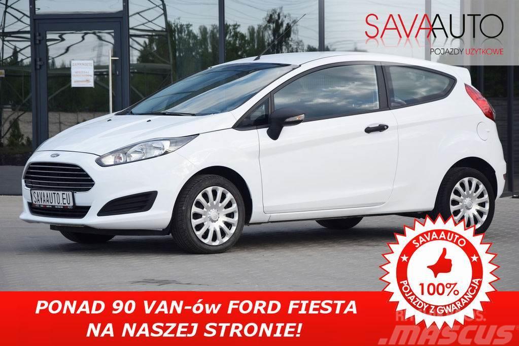 Ford FIESTA VAN*1.6TDCI*95KM*NOWY MODEL*TEMPOMAT*PARKTR