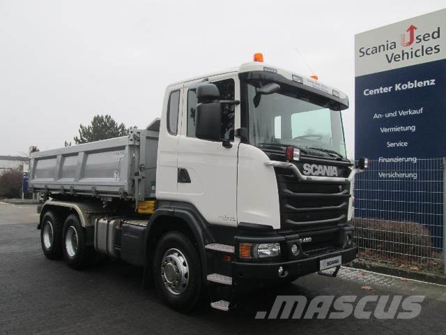 Scania G 450 6x4 DAUTEL DSK mit Bordmatik SCR ONLY